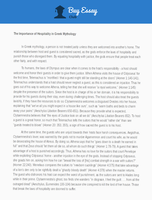 Proper page layout for an essay