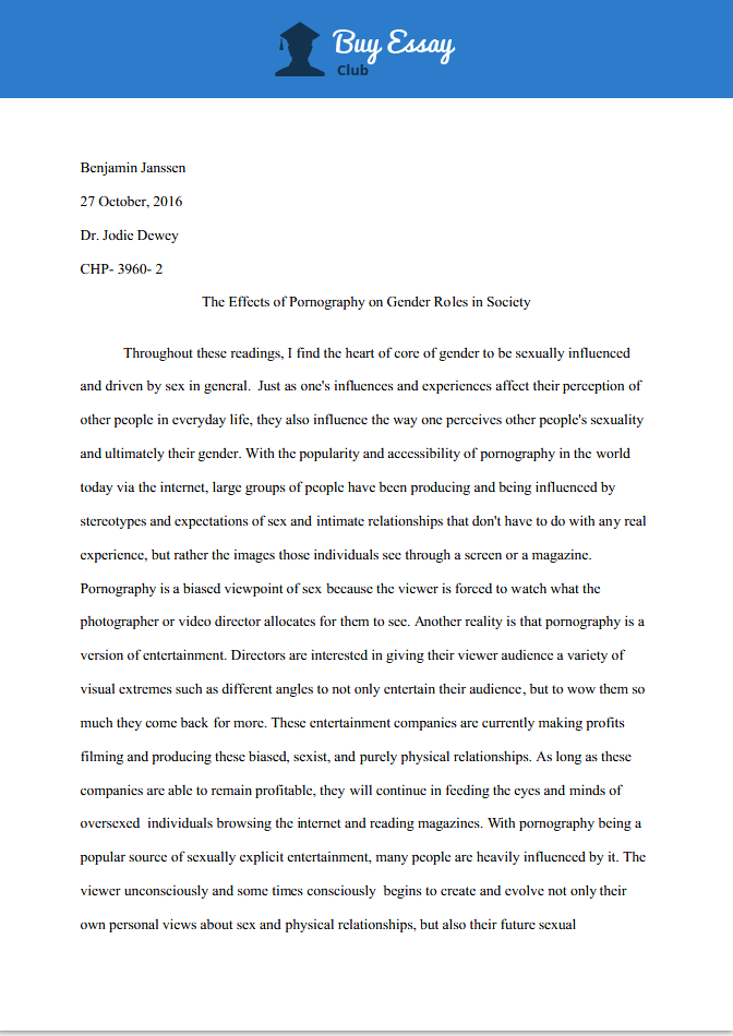 sociology paper sample